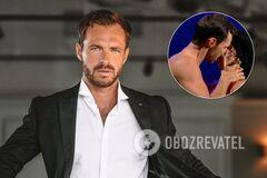 Сергей Мельник откровенно поцеловал партнершу в прямом эфире