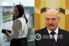 Светлана Тихановская и Александр Лукашенко
