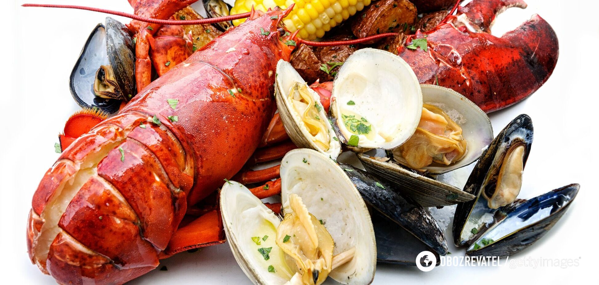 Коронавирус на упаковке с морепродуктами из России