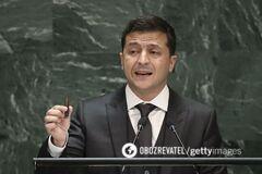 Володимир Зеленський виступив із нагоди річниці створення ООН