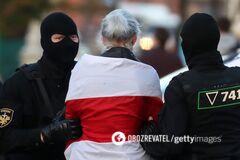На Маршах справедливости в Беларуси больше 200 задержанных