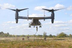 Конвертопланы НАТО Osrpey на Житомирщине