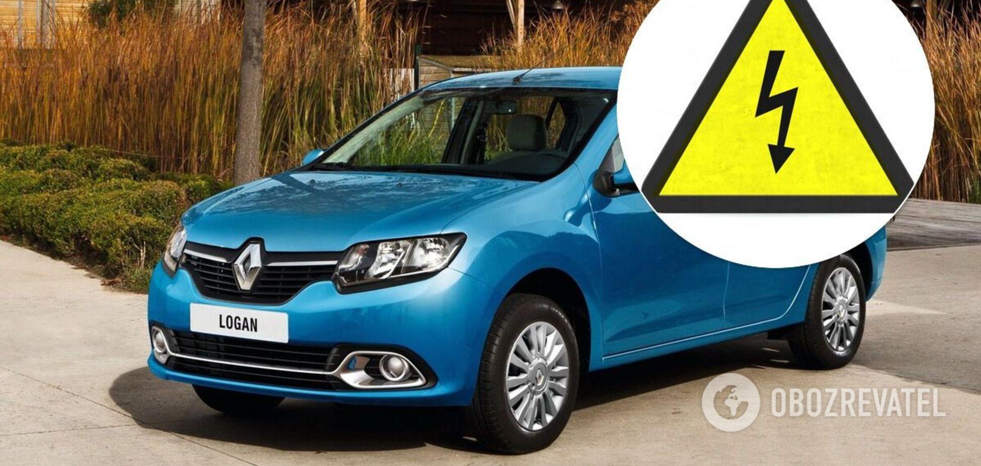 Renault Logan II перетворили на електромобіль за 7000 євро