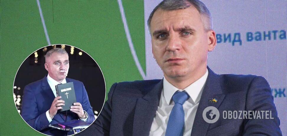 Мэр Николаева поклялся на Библии, что не ворует из бюджета. Видео