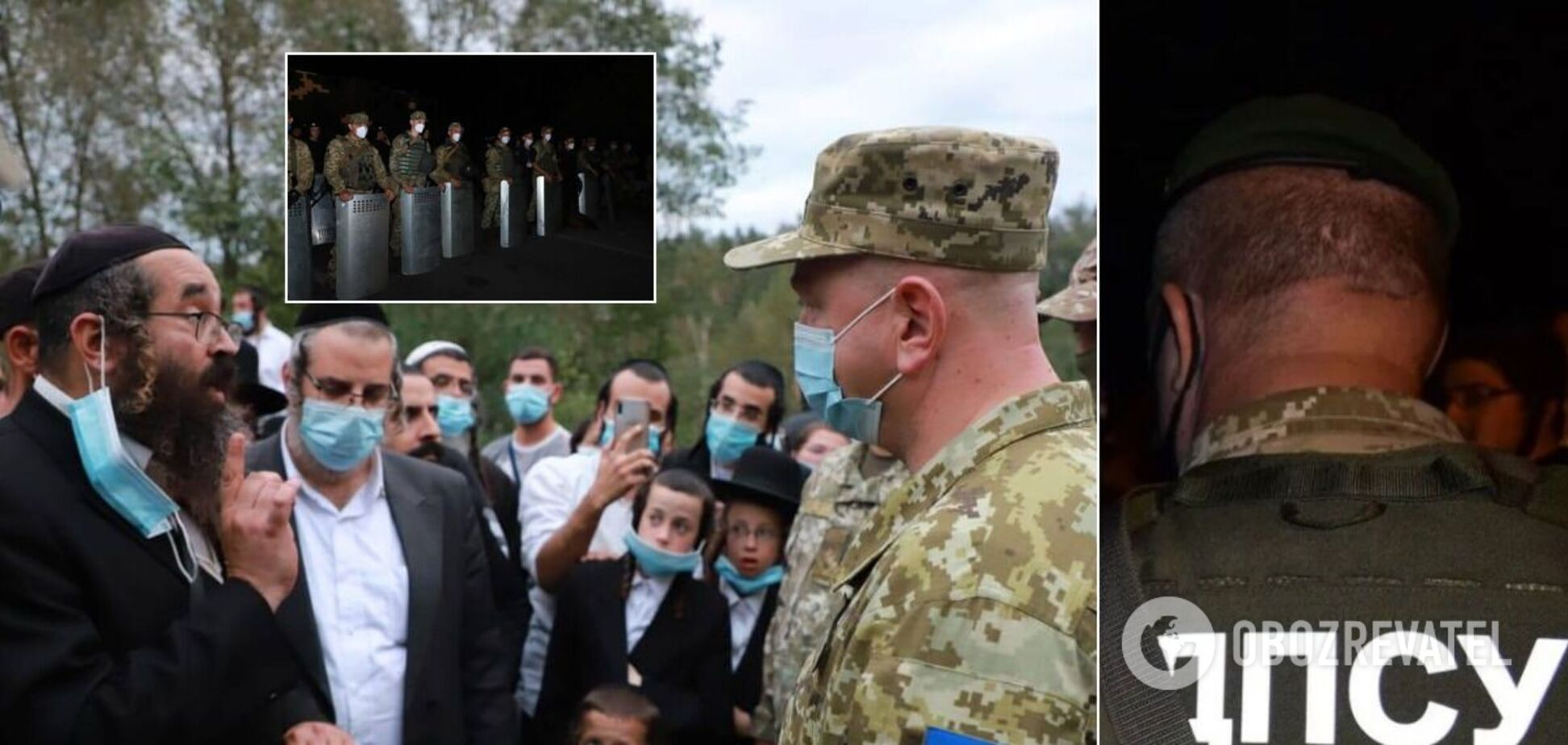 Хасиды попытались въехать в Украину из Беларуси