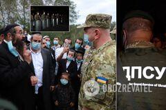 Хасиди спробували в'їхати до України з Білорусі