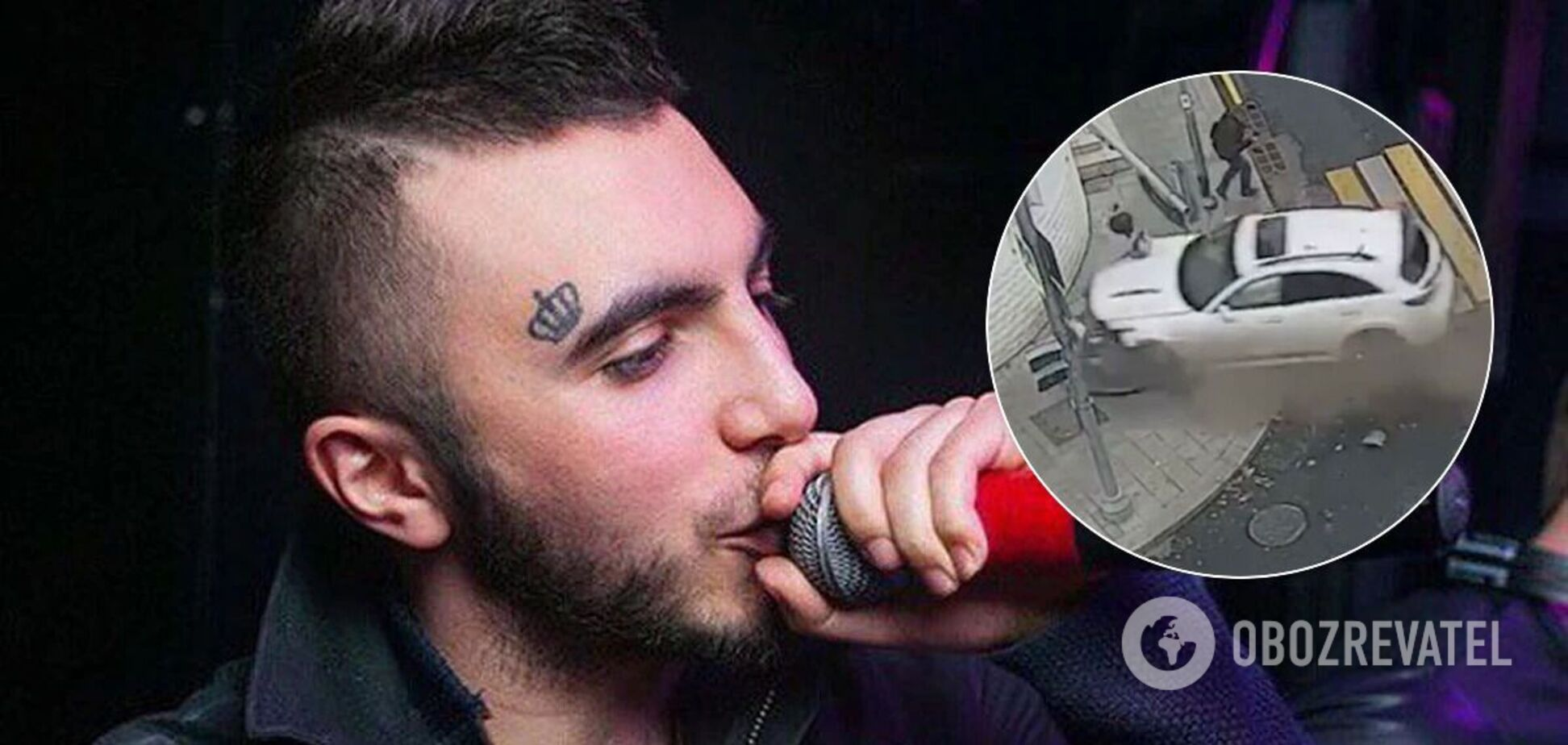 Співак Ельмін Гулієв влаштував аварію в центрі Москви