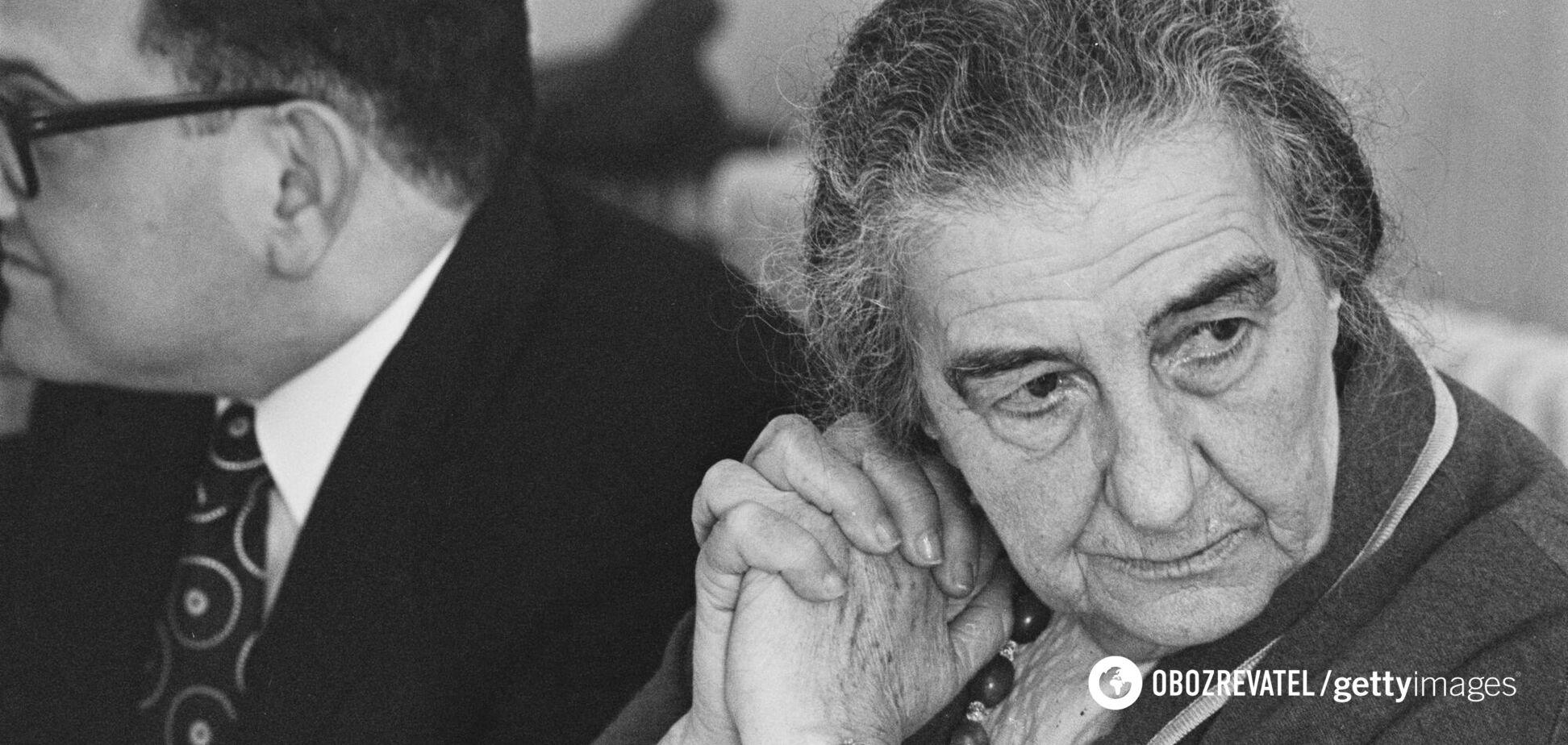 Голда Меир была первой женщиной, возглавившей правительство Израиля