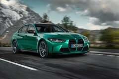 Новая BMW M3 удивила огромными 'ноздрями' радиатора