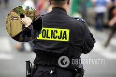 Полиция Польши задержала украинца
