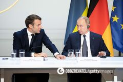 Путин заявил Макрону, что Навальный сам мог принять яд