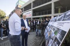 Кличко открыл новый паркинг в столичном зоопарке: фоторепортаж