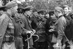 Красноармейцы мирно общались с Вермахтом в 1939 году