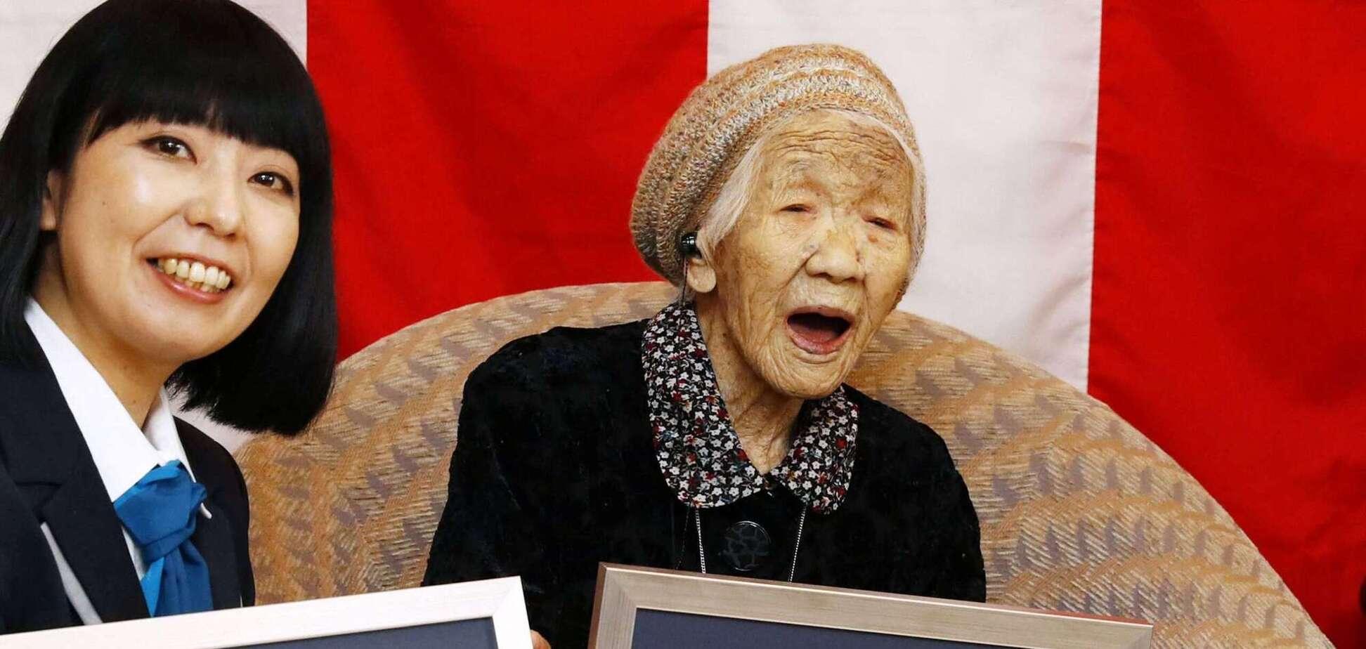Кане Танака – найстаріша жінка світу