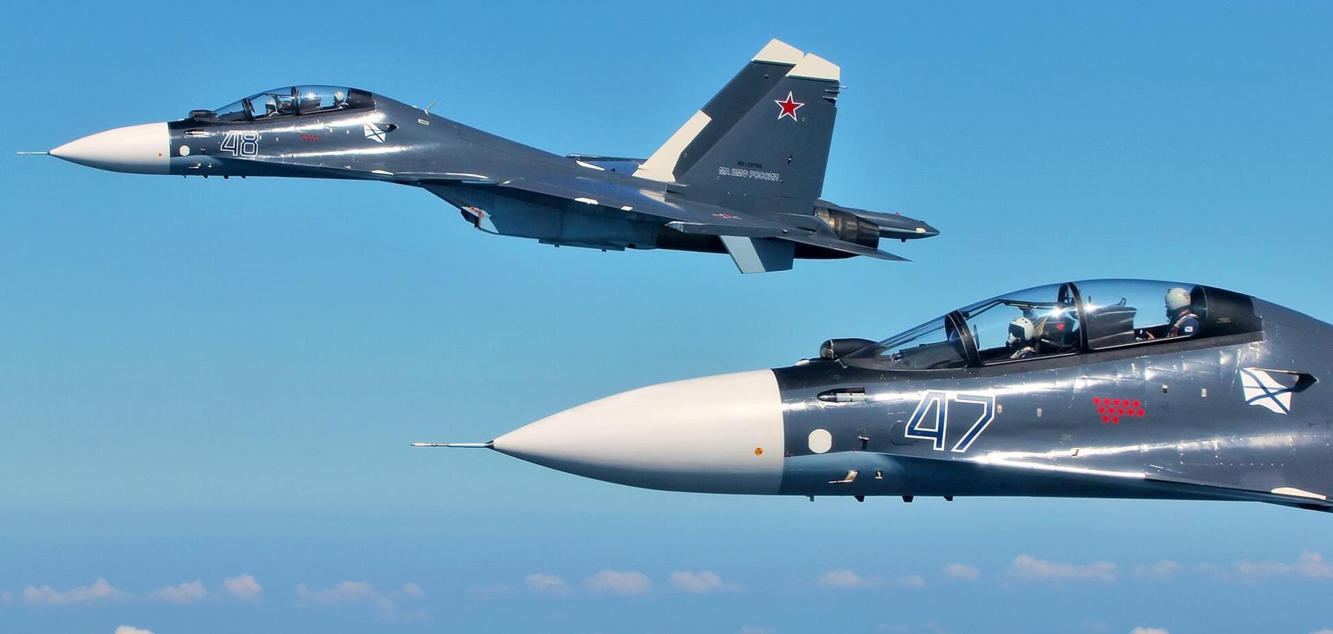 В России Су-35 случайно сбил Су-30