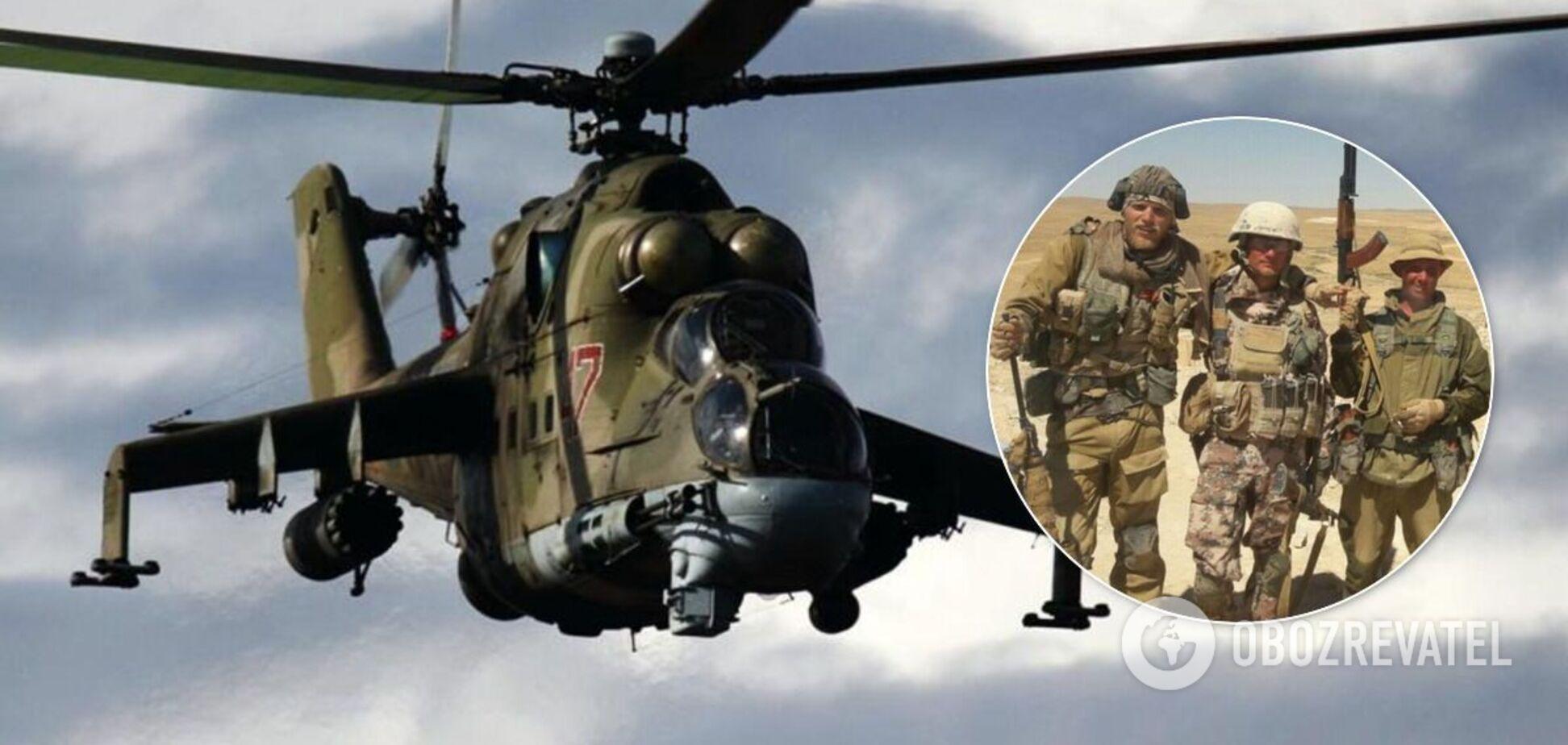 В Ливии разбился вертолет с вагнеровцами