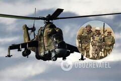 В Ливии разбился вертолет с 'вагнеровцами'