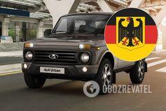 Lada Niva немецкой сборки: опубликовано первое фото