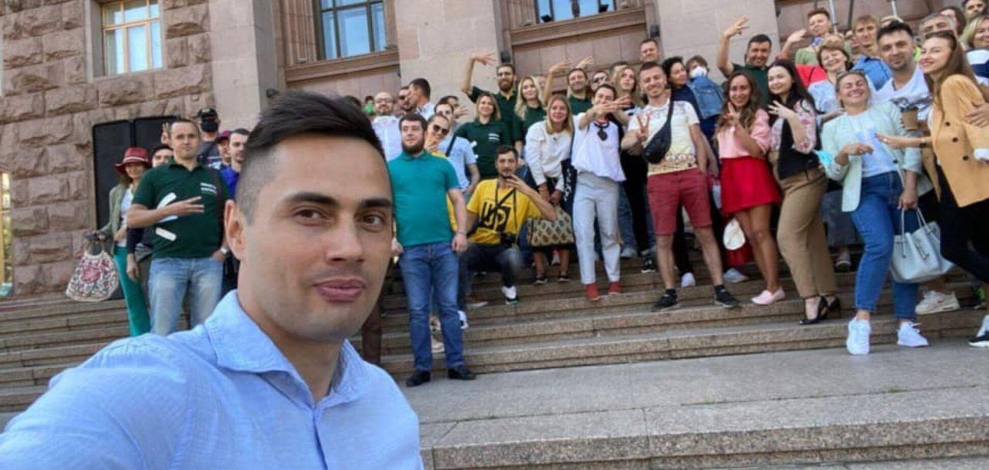 Егор Фирсов сообщил, что 'Екоальтернатива' представила полный список кандидатов на выборы. Фото: Рубрика