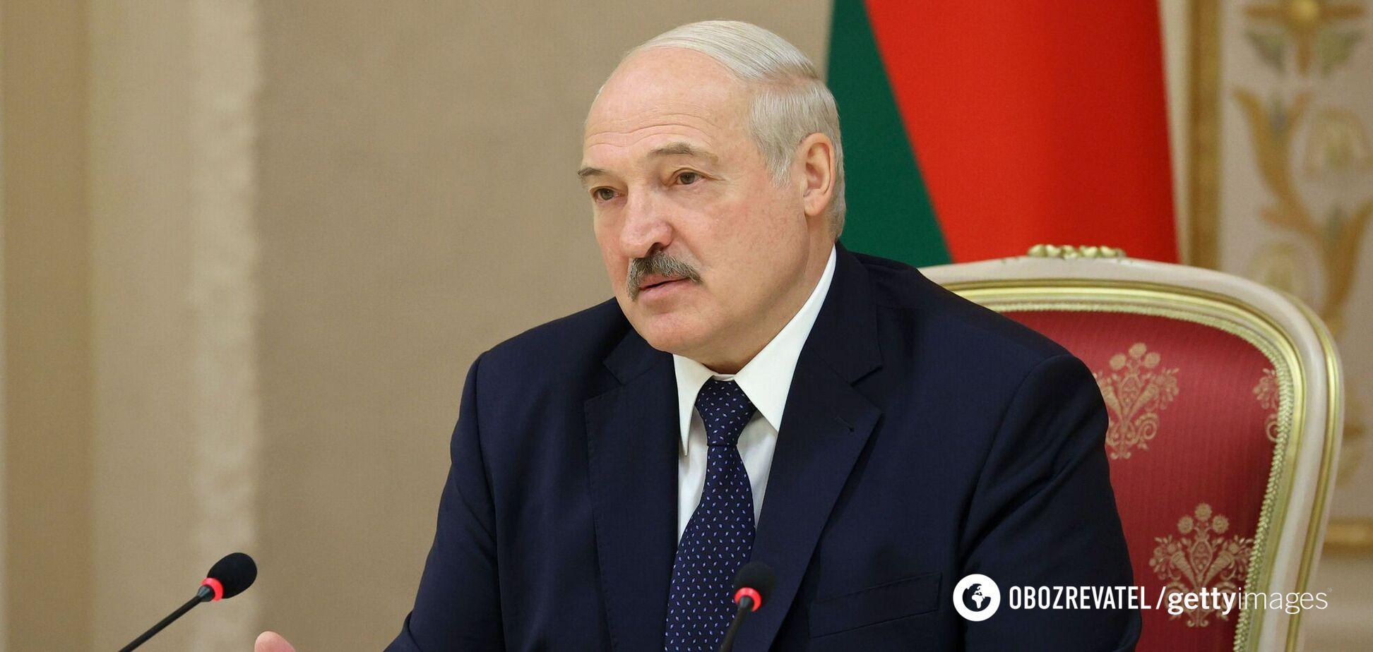 Незаконно обраний президент Білорусі Олександр Лукашенко