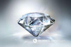 В Украине вырастили самый большой в мире алмаз