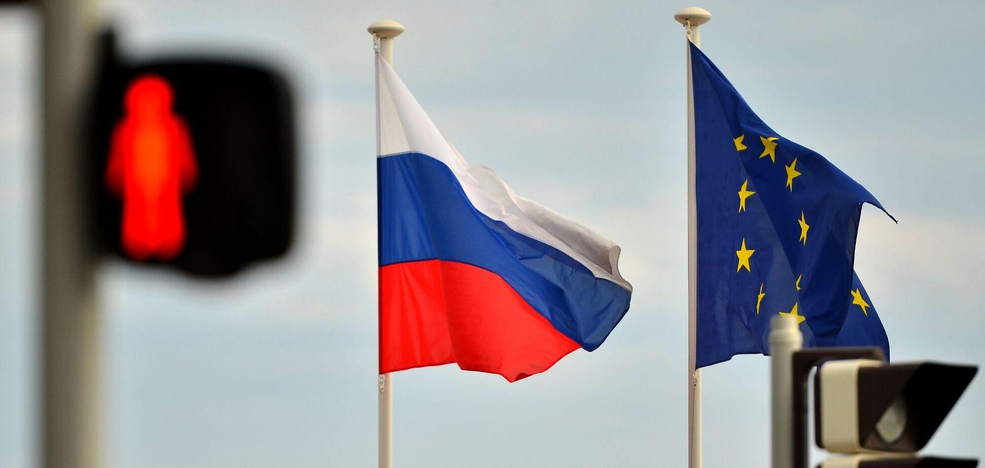 Россия ввела санкции против ЕС
