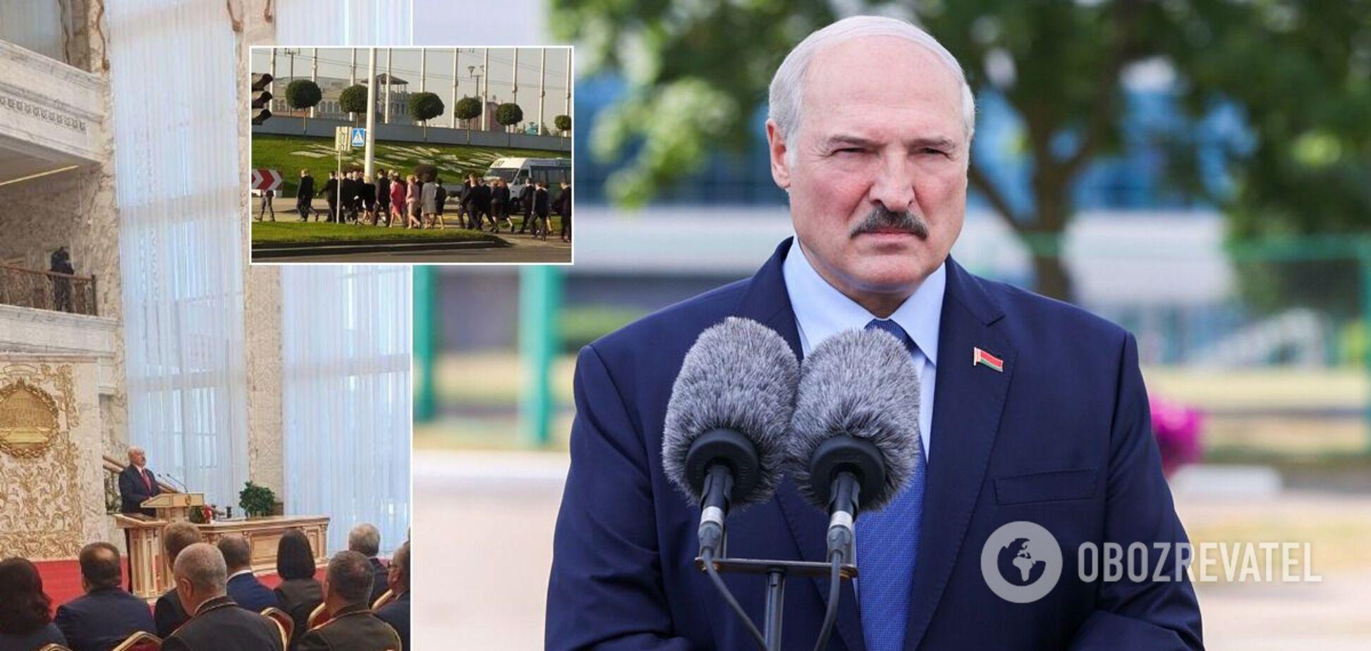 Олександра Лукашенка запідозрили в таємній інавгурації