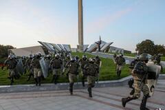 В Минске силовики жестко разгоняли протестующих