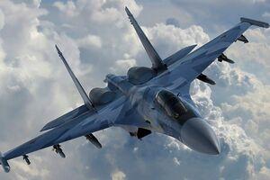 В сети показали видео с места катастрофы российского истребителя Су-30