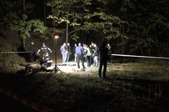 На Лысой горе в Киеве нашли тело мужчины