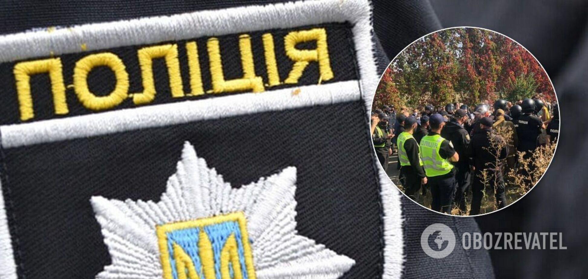 Бійка на території Олімпійського коледжу в Києві