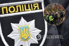 Драка на территории Олимпийского колледжа в Киеве