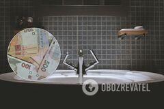 Украинцы из-за долгов рискуют остаться без коммунальных услуг