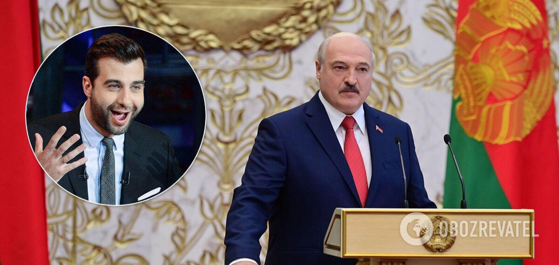 Иван Ургант высмеял Лукашенко на росТВ