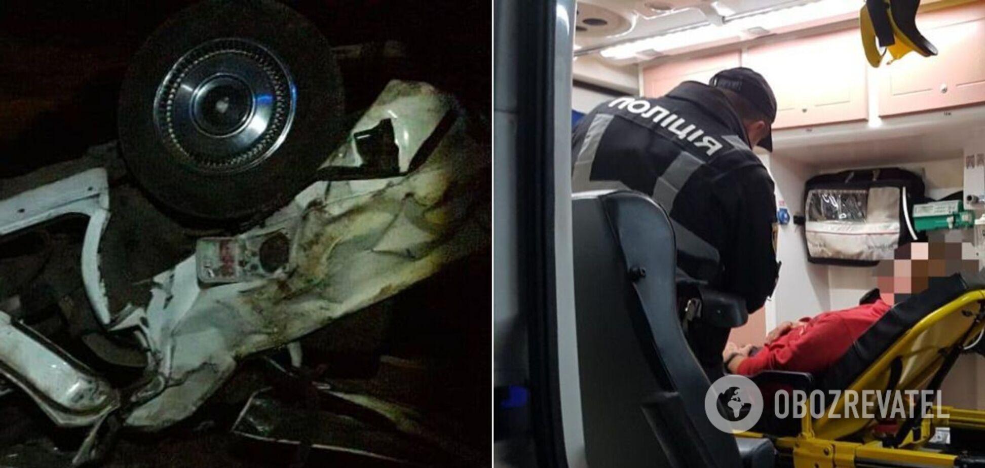 На Одесщине произошло крупное ДТП: двое погибших и 4 раненых. Фото