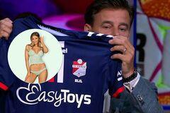 Секс-шоп стал спонсором футбольного клуба в Нидерландах. Фотофакт
