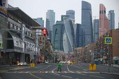 Бизнес-район в Москве 'Москва-сити'