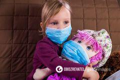 Коронавирус у детей. Иллюстрация