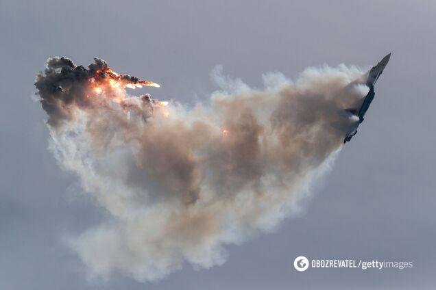 В России во время учений сбили Су-30