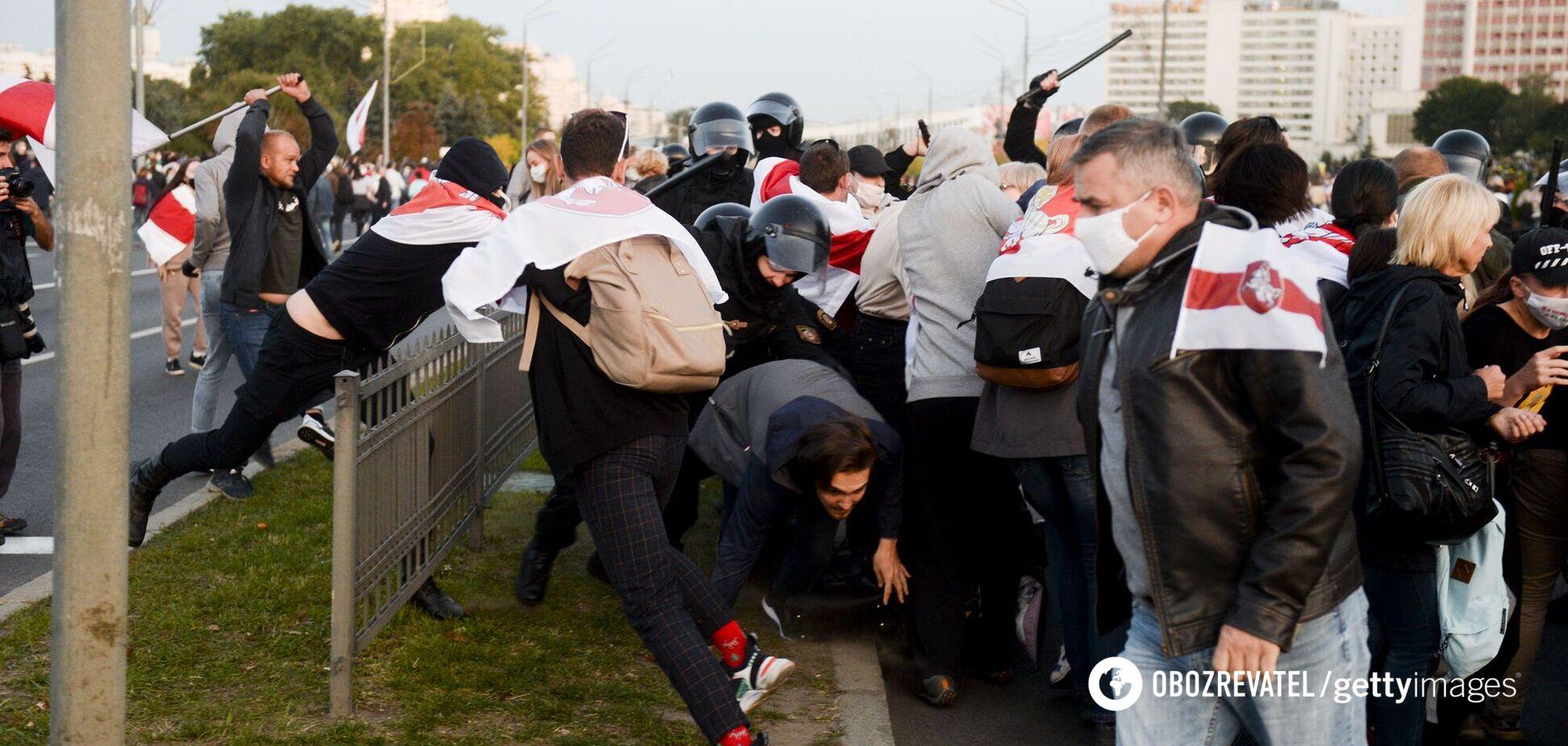 Опубликовано видео 'массовых беспорядков' в стране