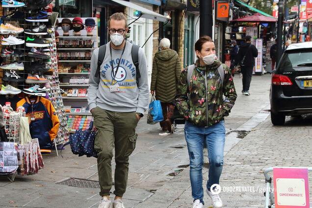 В Великобритании за сутки коронавирусом заразились более 6,6 тысяч человек