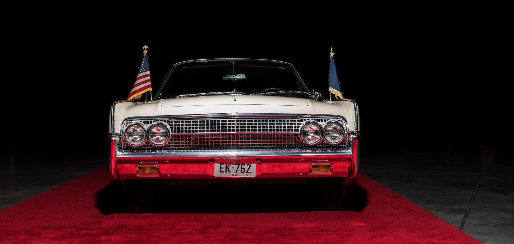 На аукцион выставили кабриолет Джона Кеннеди