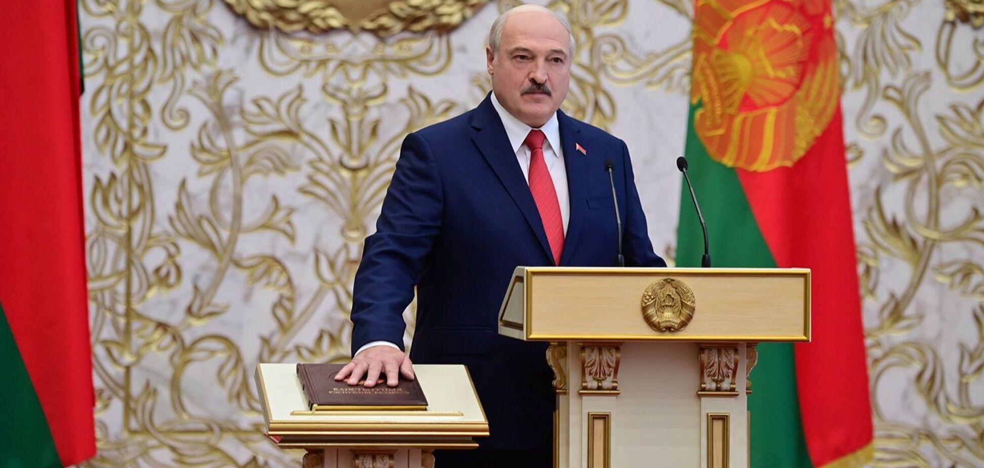 Александр Лукашенко провел незаконную инаугурацию
