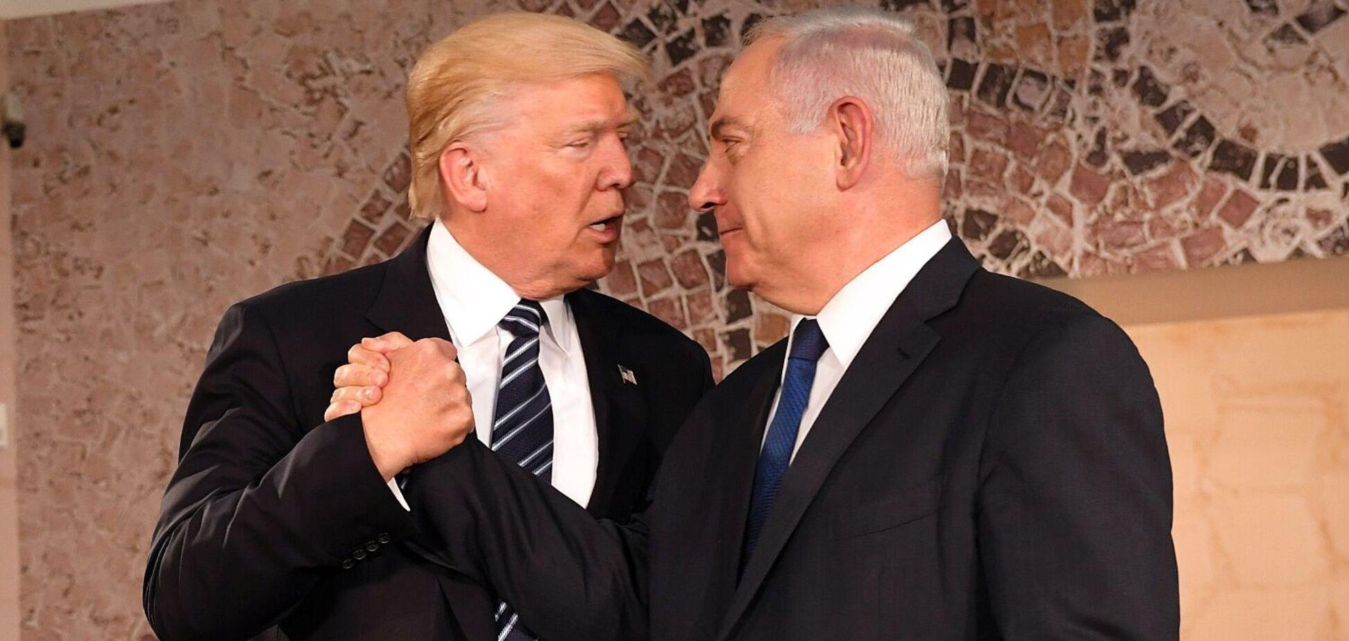 Нетаньяху возит с собой в США чемоданы с грязным бельем