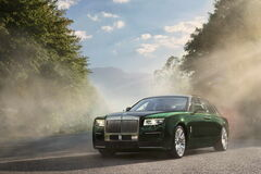 Rolls-Royce презентовал самый крупный Ghost
