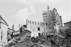 Последствия взрывов в Киеве, устроенных НКВД