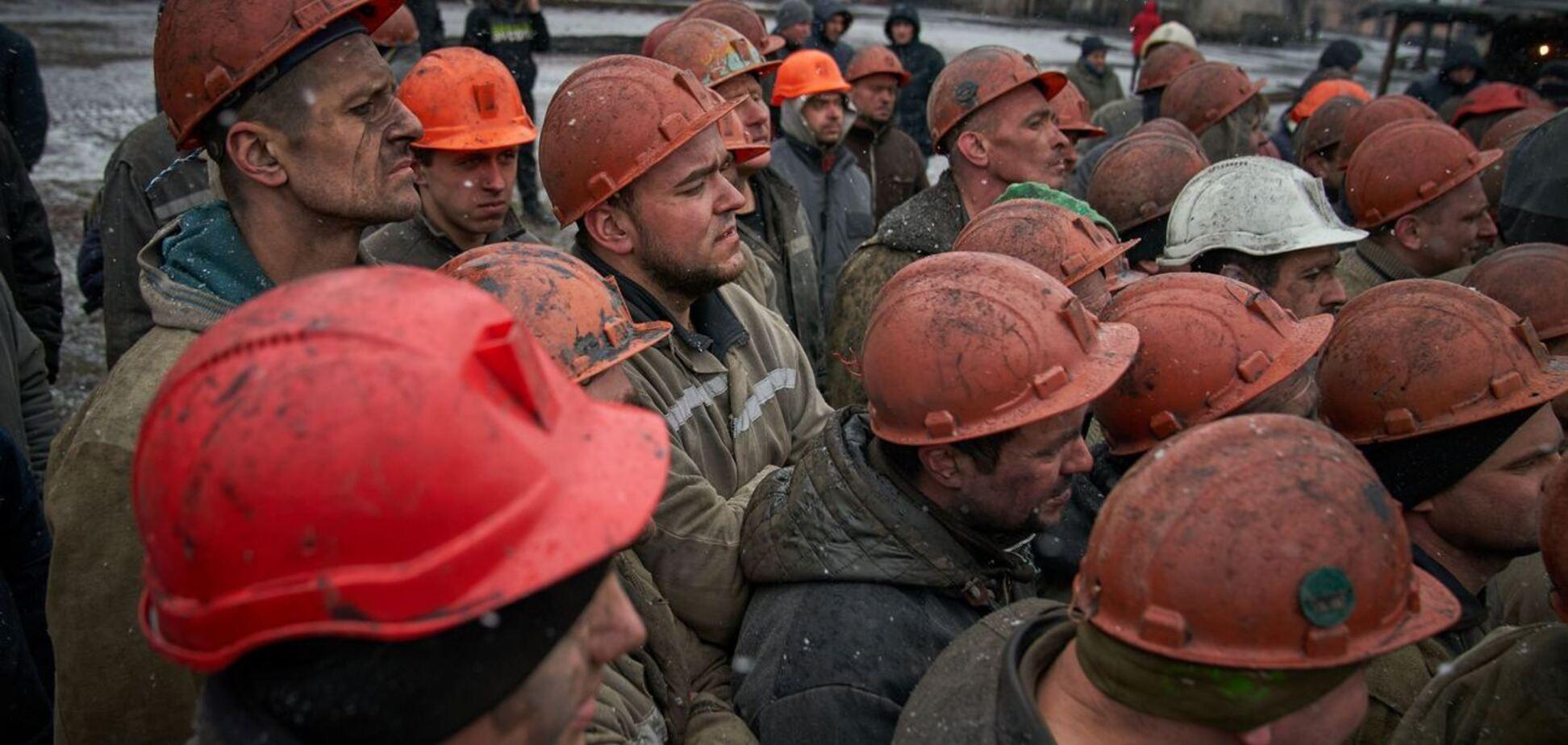 У Кривому Розі шахти закриють на простій через протести, частину гірників звільнять