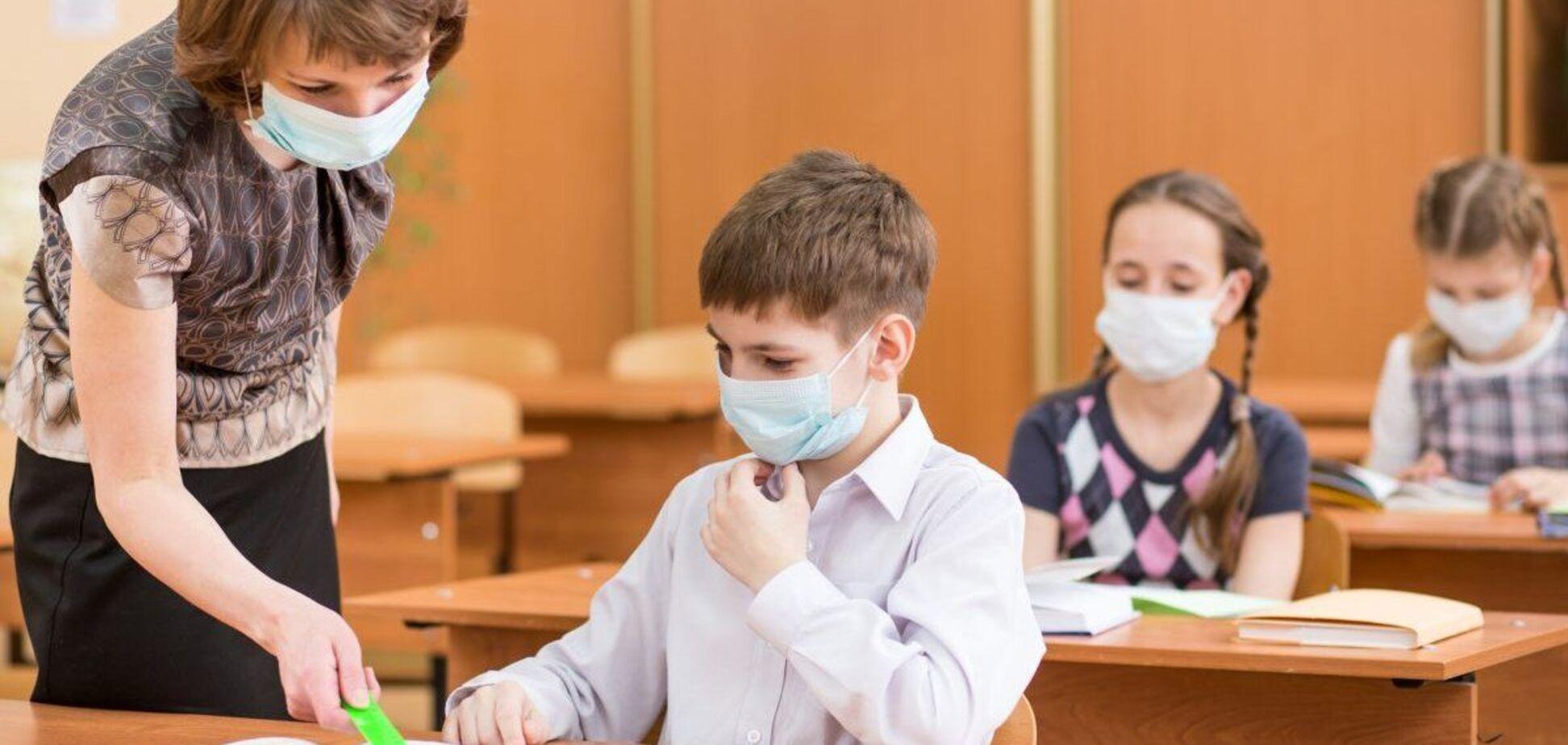 У Дніпрі школярів масово відправили на самоізоляцію через COVID-19