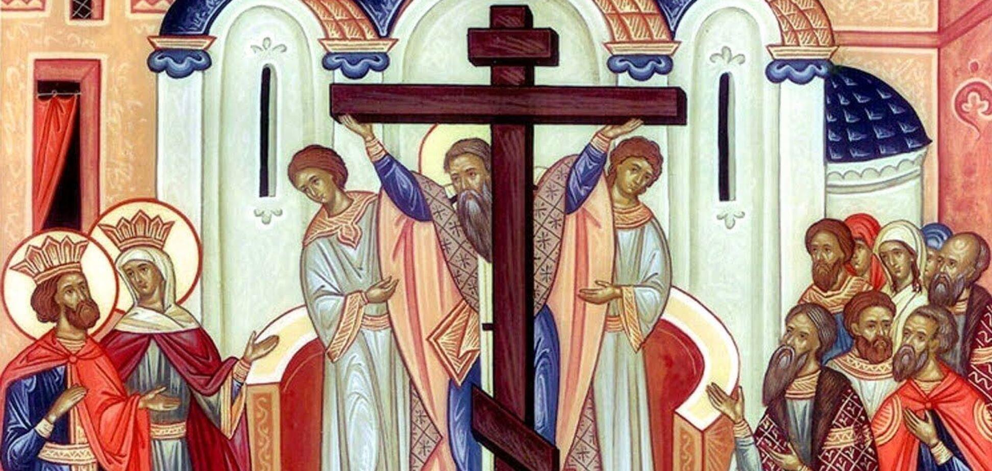 Воздвиження Хреста Господнього 2020: що категорично не можна робити в свято