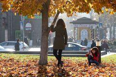 Синоптики прогнозируют в Украине постепенное снижение температуры